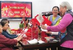 """河西区图书馆举办""""红火中国结 欢喜中国年""""主题民俗活动"""