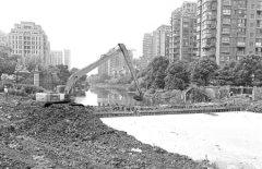 海曙加强防汛排涝 黄家河沟通及泵闸工程开工